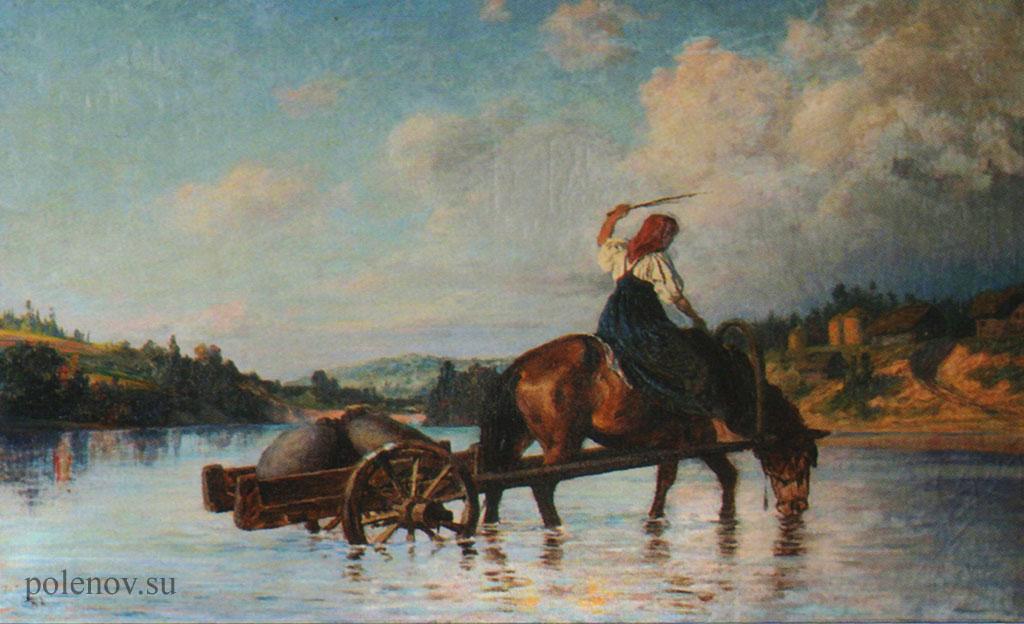 «Переправа через реку Оять»
