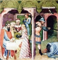 Икона Усекновение головы Иоанна Предтечи