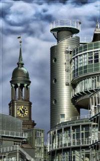 Город в стиле урбанизма